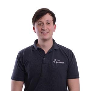Geriatriefysiotherapeut David Jansen Fysio Jansen Deurne