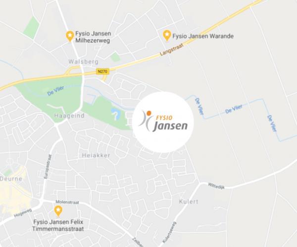 Drie locaties in Deurne l Fysio Jansen
