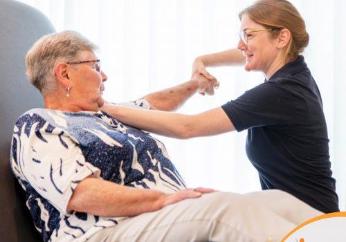 Geriatrie fysiotherapie Deurne l Persoonlijk en vakkundig Danielle